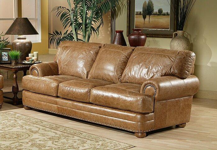 Omnia Leather Houston Sofa Bed