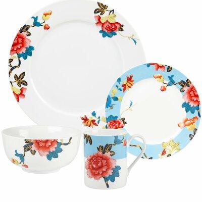 Isabella 16 Piece Dinnerware Set  sc 1 st  Wayfair & Lenox Butterfly Meadow Hydrangea 12 Piece Dinnerware Set Service ...