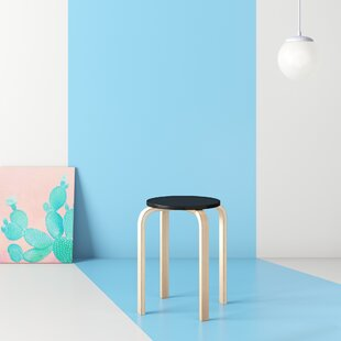 Chelvey Bentwood Accent Stool by Hashtag Home