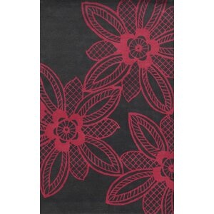 Martinique Hand-Tufted Pink/Gray Area Rug