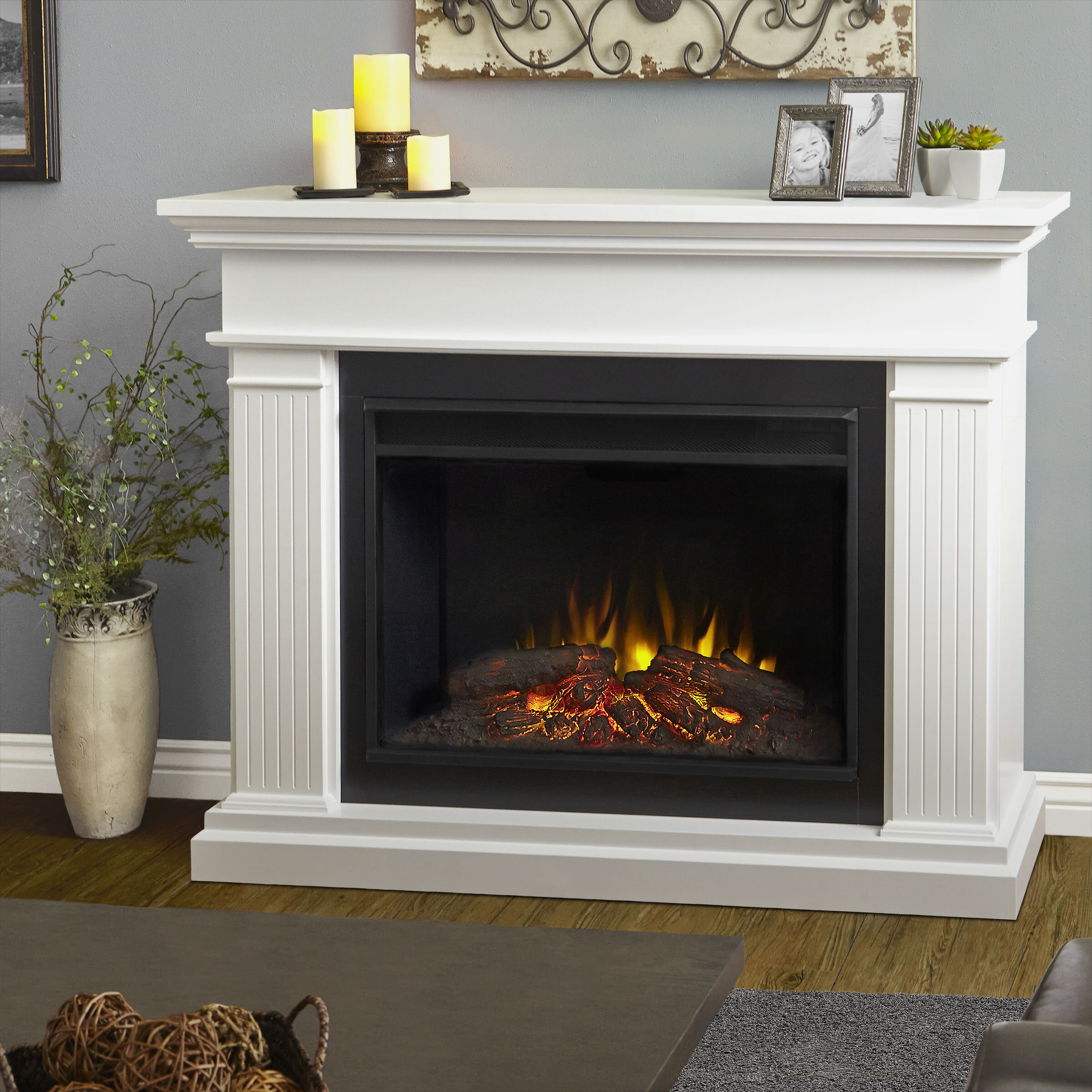 Wayfair Fireplace Mantel Package Electric Fireplaces Stoves You Ll Love In 2021