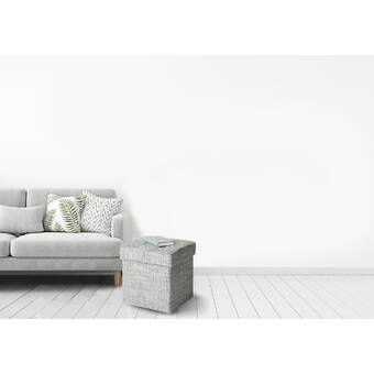 Wondrous Mercer41 Ellie Round Metal Base Tufted Storage Ottoman Wayfair Evergreenethics Interior Chair Design Evergreenethicsorg