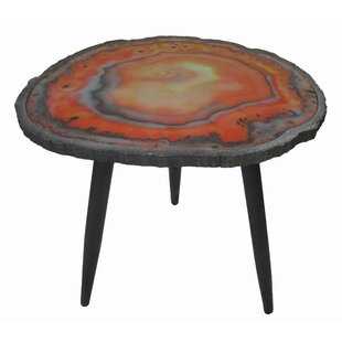 Bilney Wood/Metal End Table