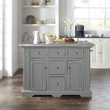 Gabriele Kitchen Island by Canora Grey