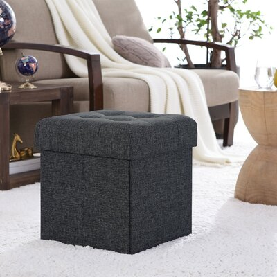 Black Ottomans Amp Poufs You Ll Love In 2019 Wayfair