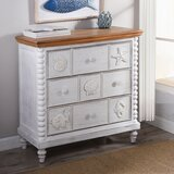 Horwitz 3 Drawer Bachelor's Chest by Highland Dunes