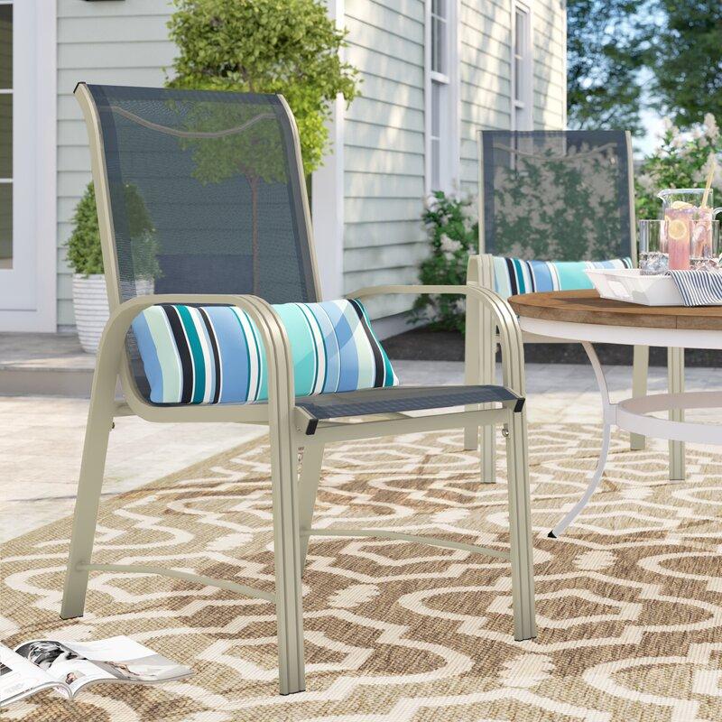 Sol 72 Outdoor™ Shropshire Patio Dining Chair & Reviews   Wayfair
