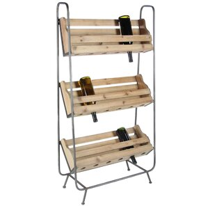 Rainier Metal Floor Wine Bottle Rack by 1..
