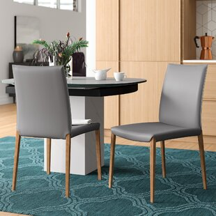 Fontaine Upholstered Dining Chair (Set of 2) Brayden Studio