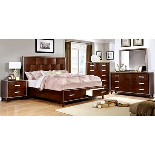 Angelique Storage Platform Configurable Bedroom Set
