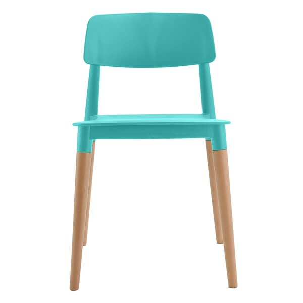 Peachy Modern Contemporary Low Back Dining Chair Allmodern Ibusinesslaw Wood Chair Design Ideas Ibusinesslaworg