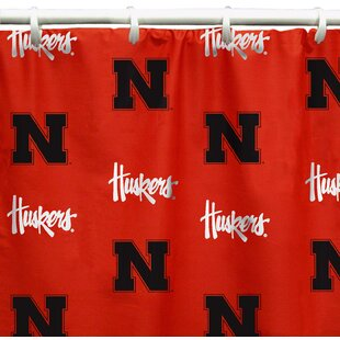 NCAA Nebraska Printed Single Shower Curtain