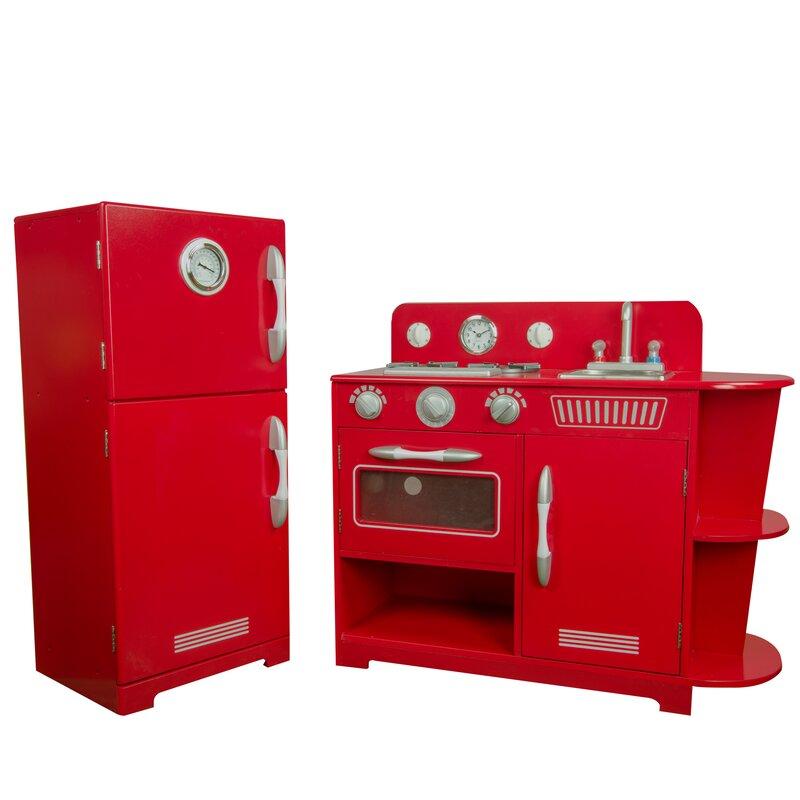 2 Piece Play Kitchen Set