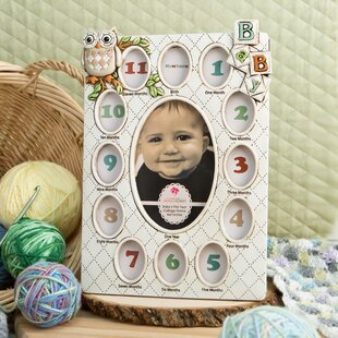 Baby First Year Picture Frames Wayfair