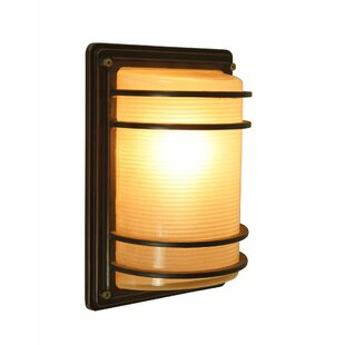 Compare prices Josephs 1-Light Outdoor Flush Mount By Bloomsbury Market