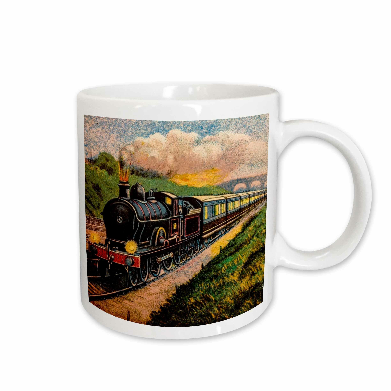 East Urban Home Locomotive Train Carriages Coffee Mug Wayfair
