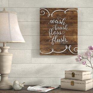 Wash Brush Flush Art Wayfair