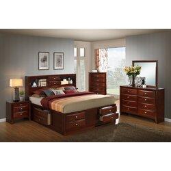 Red Barrel Studio Plumcreek Storage Panel 5 Piece Bedroom Set ...