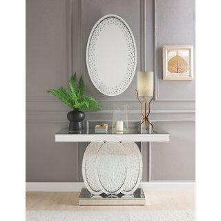 "Minnie 47"" Console Table and Mirror by Rosdorf Park SKU:DE508246 Shop"