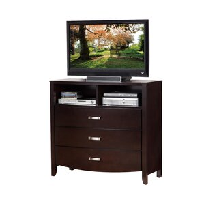 Rushmere 3 Drawer Media Chest by Latitude Run