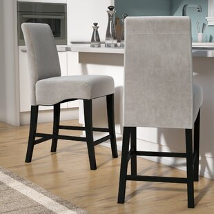 Lazarus 24 Bar Stool (Set of 2) Wade Logan