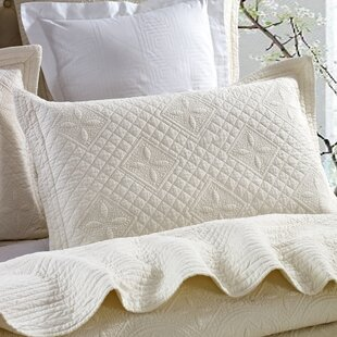 Roopville Luxury Pure Cotton Quilted Pillow Sham