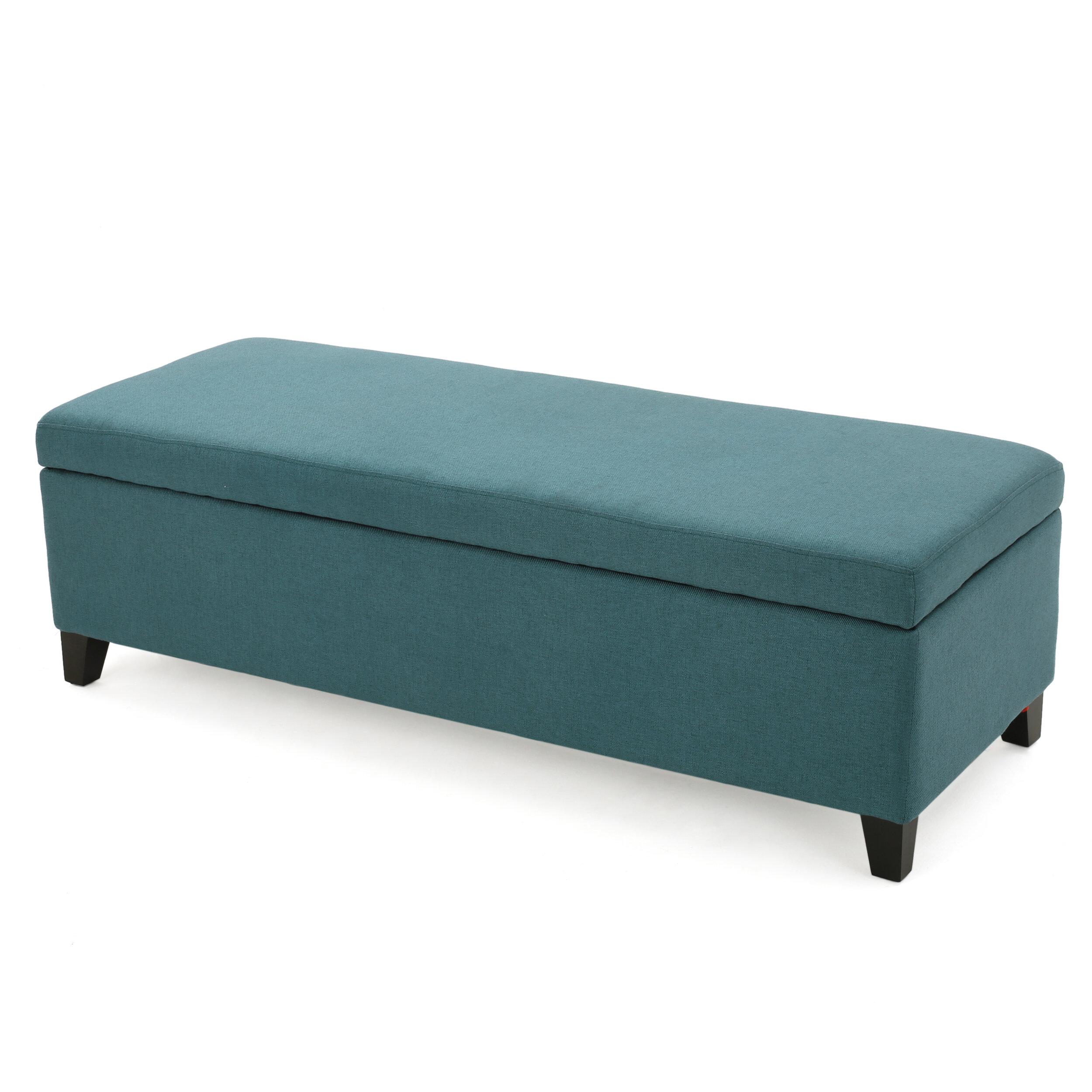 Zipcode Design Ewan Upholstered Storage Bench & Reviews | Wayfair