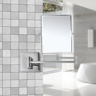Deals Double Face Wall Mounted Bathroom / Vanity Mirror ByGlimmer by Nameeks