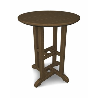 Traditional Garden Round 29 Inch Table by POLYWOOD® Great Reviews