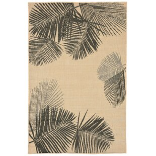 Cecile Natural Indoor/Outdoor Area Rug by Beachcrest Home Find