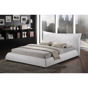 Great Price Miranda Upholstered Platform Bed by Wade Logan Reviews (2019) & Buyer's Guide