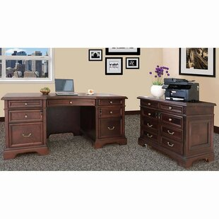 Bruch 2 Piece Desk Office Suite by DarHome Co Looking for
