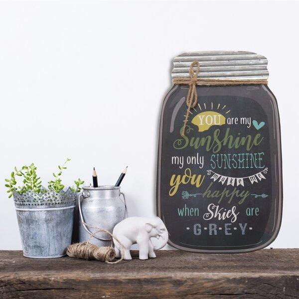 You+Are+My+Sunshine+Mason+Jar+Wall+D%C3%A9cor
