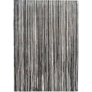 Grey Stripes 8630 Rug by Louis de Poortere