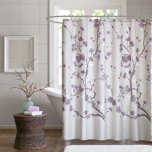 Teal And Purple Shower Curtain Wayfair