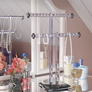 Inexpensive 15 2-Tier Jewelry Stand ByWilla Arlo Interiors
