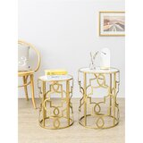 Azriel Frame Nesting Tables (Set of 2) by Everly Quinn