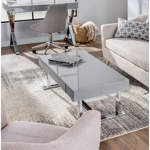 Look for June Contemporary Coffee Table by Wade Logan Reviews (2019) & Buyer's Guide
