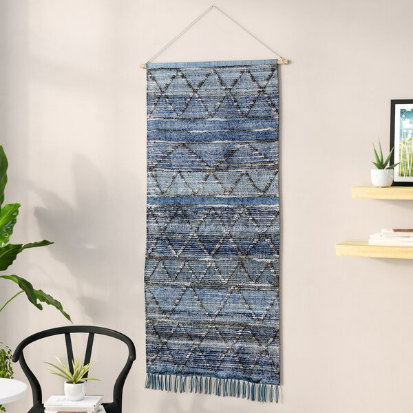 Langley Street Blended Fabric Wall Hanging With Hanging Accessories Included Reviews Wayfair