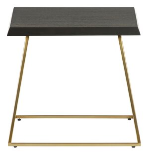 Modern contemporary large square end table allmodern hathor square end table watchthetrailerfo