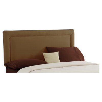 Adamek Upholstered Panel Headboard Size: California King, Color: Khaki by Mack  and  Milo
