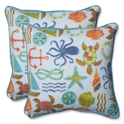 Seapoint Indoor/Outdoor Throw Pillow Pillow Perfect