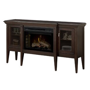 Upton TV Stand with Fireplace