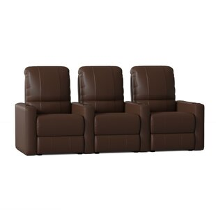 Home Theater Configurable Seating Row of 4