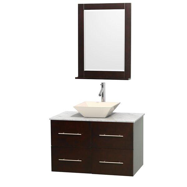 Wyndham Collection Centra Single Espresso Bathroom Vanity Set - Bathroom vanities northridge ca