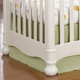 Buy clear Sweet Linen Crib Skirt By Liz and Roo Fine Baby Bedding