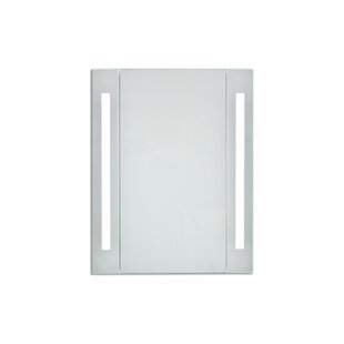 Read Reviews Corby 23.5 x 30 Surface Mount Medicine Cabinet with LED Lighting By Orren Ellis