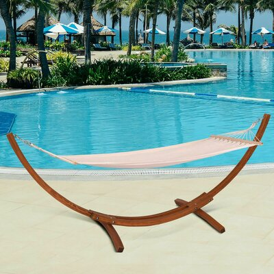 Mccune Spreader Bar Hammock With Stand by Bayou Breeze Great price