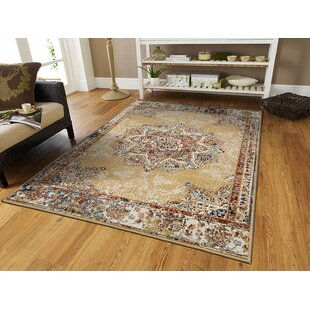 Schoenrock Tan/Red Indoor/Outdoor Area Rug