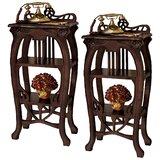 Art Nouveau 2 Piece End Table Set (Set of 2) by Design Toscano
